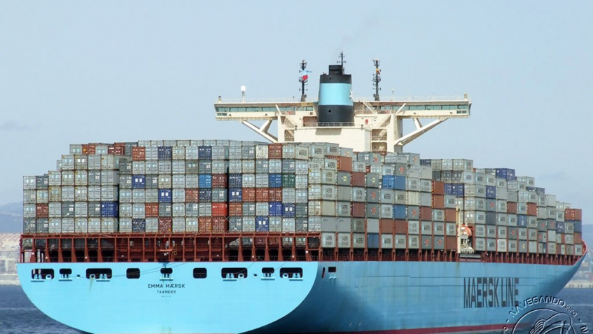 Emma Maersk 2011 - 15.000 TEU